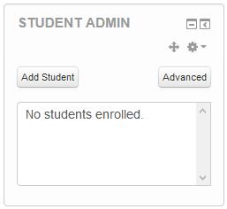 student admin