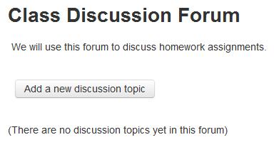 Add Forum
