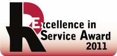 Excellence in Service Award 2011