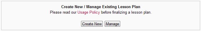 manage area