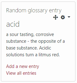 Random Glossary